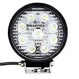 Tufkote Flood Beam Auxiliary LED Lamp for Cars and Bikes (27W)