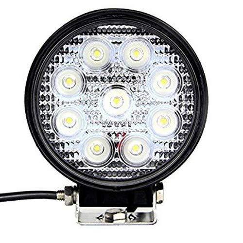 Tufkote Flood Beam Auxiliary LED Lamp for Cars and Bikes (27W)