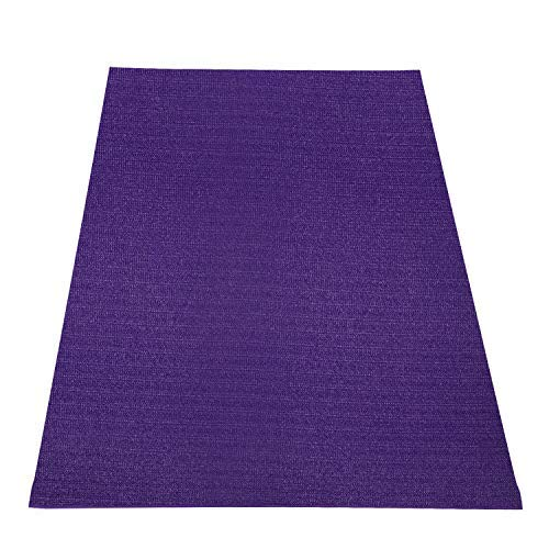 Wesfital Extra Large Exercise Yoga Mat 8'x5'(96'x 60') x7mm Home Gym Floor Workout Mats High Density Non-Slip Durable Cardio Fitness Mat