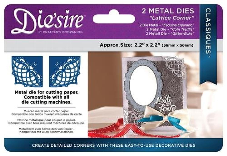 Die'sire DS-C-LATCOR Thin Metal Die, Silver