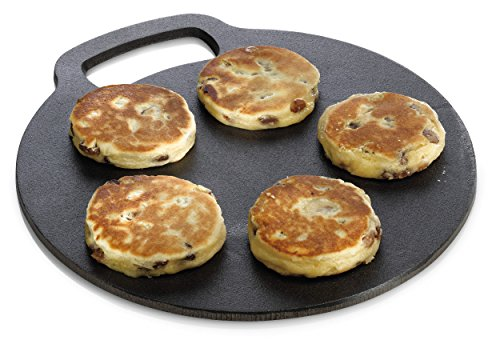 Cast Iron Baking Stone Perfect for Welsh Cakes