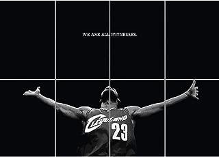 Doppelganger33 LTD Lebron James Poster - Basketball Giant Art Print EN448
