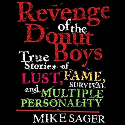 Revenge of the Donut Boys audiobook cover art