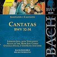 Cantatas.32-34: Rilling / Stuttgart Bach Collegium