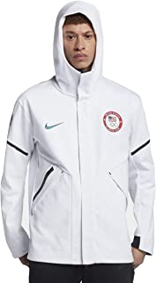 1dca01febc3a Nike Men s 2018 USA Tech Fleece Windrunner Winter Olympic Team Jacket
