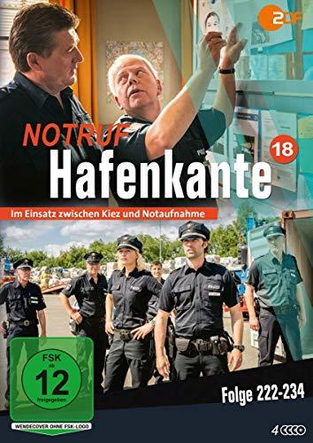 Notruf Hafenkante 18 (Folge 222-234) [4 DVDs]