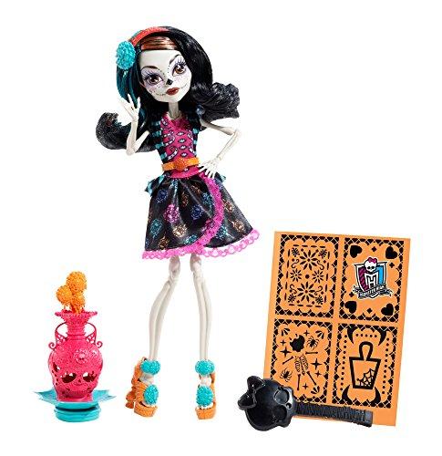 Mattel BDF14 - Monster High Art Class Skelita, Puppe