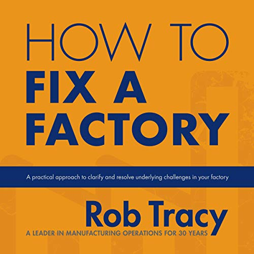 How to Fix a Factory audiobook cover art