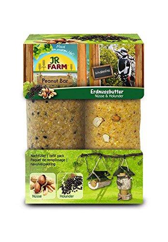JR Garden Peanut Bar 2er Pack Nüsse und Holunder 700g
