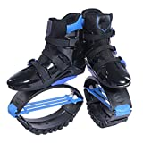 FQMAO Jumps Rebound Shoes, Jumping Shoes for Adults,Bounce Shoe Jumping Shoes, Unisex Lose Weight Shoes Indoor and Outdoor Use,L