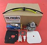 Alamia,inc Mantis-Tiller-Parts-Tune-Up-kit-With-Carburetor-Fits-All-New-2-Cycle-Mantis-Tillers, 7222-7222E-7222M-7225 7230-7234-7240-7920-7924 Tiller-Cultivator.