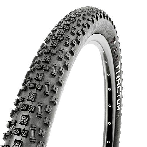 MSC Bikes Tractor Neumático Bicicleta, Adultos Unisex, Negro, 29 x 2. 20