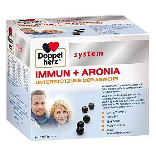 Doppelherz system IMMUN + ARONIA, 30 St. Trinkfläschchen