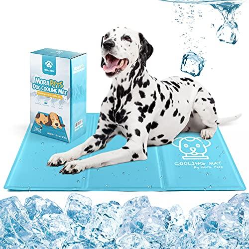 Hondenkoelmat huisdier koelmat deken voor honden katten hond koeling gel bed koele hondendeken pads dier koelmatten groot 50 x 90 cm