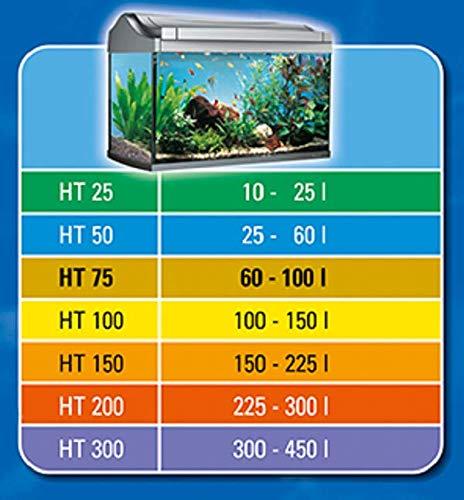 Tetra HT 50 Reglerheizer (leistungsstarker Aquarienheizer zur Abdeckung unterschiedlicher Leistungsstufen mit Temperatureinstellknopf, Heizvorrichtung für Aquarien von 25 bis 60 Liter) - 5
