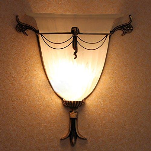 DLewiee Personnalité Créative Minimaliste Européenne Led Verre Applique Balcon Lampe Aisle Lumière Escalier Lampe Salon Lampe Chambre Lampe De Chevet