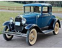 DIY 5D大人の番号が付けられたダイヤモンドの番号が付けられた完全なダイヤモンドの番号が付けられた古い車