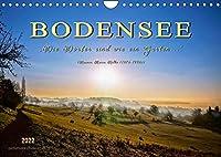 """Bodensee - """"Die Doerfer sind wie ein Garten ..."""" (Rainer Maria Rilke) (Wandkalender 2022 DIN A4 quer): Eine der schoensten Urlaubsregionen, die Bodensee-Region. (Monatskalender, 14 Seiten )"""