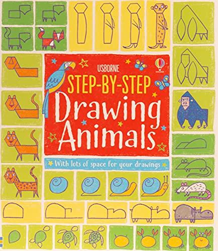 0ga Ebook Step By Step Drawing Animals By Fiona Watt Unkgbey