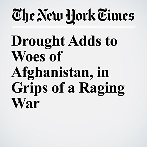 Drought Adds to Woes of Afghanistan, in Grips of a Raging War copertina