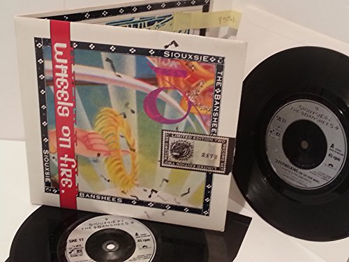 SIOUXSIE AND THE BANSHEES this wheel's on fire, 2 x 7' vinyl, gatefold, SHEG 11, limited edition, number: 2172