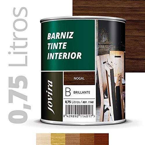 BARNIZ TINTE INTERIOR BRILLANTE, Barniz madera, Protege la