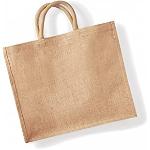 Customer reviews Westford Mill Jumbo Jute Shopper Bag (29 Litres) (One Size) (Natural):Btc4you