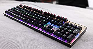Keyclick Multiple lighting modes RGB Mechanical Gaming Keyboard[JP0001]