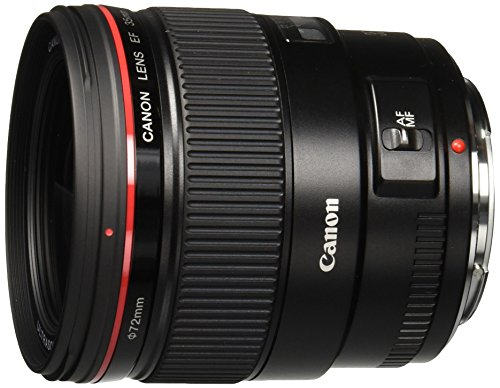 Canon EF 35mm f/1.4L USM Wide Angle Lens for Canon SLR Cameras - White Box (New) (Bulk Packaging)