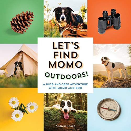 Let's Find Momo Outdoors!: A Hide and Seek Adventure with Momo and Boo: 5