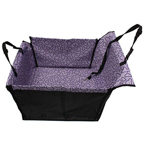 zulux waschbar Wasserdicht Auto-Sitzbezug für Hunde Tiere/Matte Decke Hängematte Dimension 58,4 x 53,3 x 33 cm(Lila)