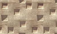 壁の壁画 壁紙 沈んだ木目調の正方形 壁画 壁紙 ベッドルーム リビングルーム ソファ テレビ 背景 壁 壁面装飾のための,300x210cm
