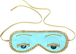 Audrey Hepburn Breakfast at Tiffany's Holly Golightly Blue Sleep Mask Handmade, Silk, Tiffany Turquoise