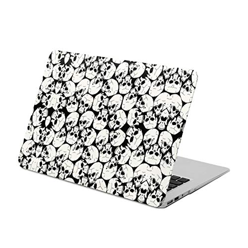 MacBook Air 13 inch Case (A1369 & A1466, Older Version 2010-2017 Release),Many Skulls,Plastic Hard Shell with Keyboard Brush,Only Compatible with MacBook Air 13 inch