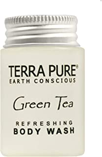 Terra Pure Body Wash, Travel Size Hotel Amenities, 1 oz (Case of 300)