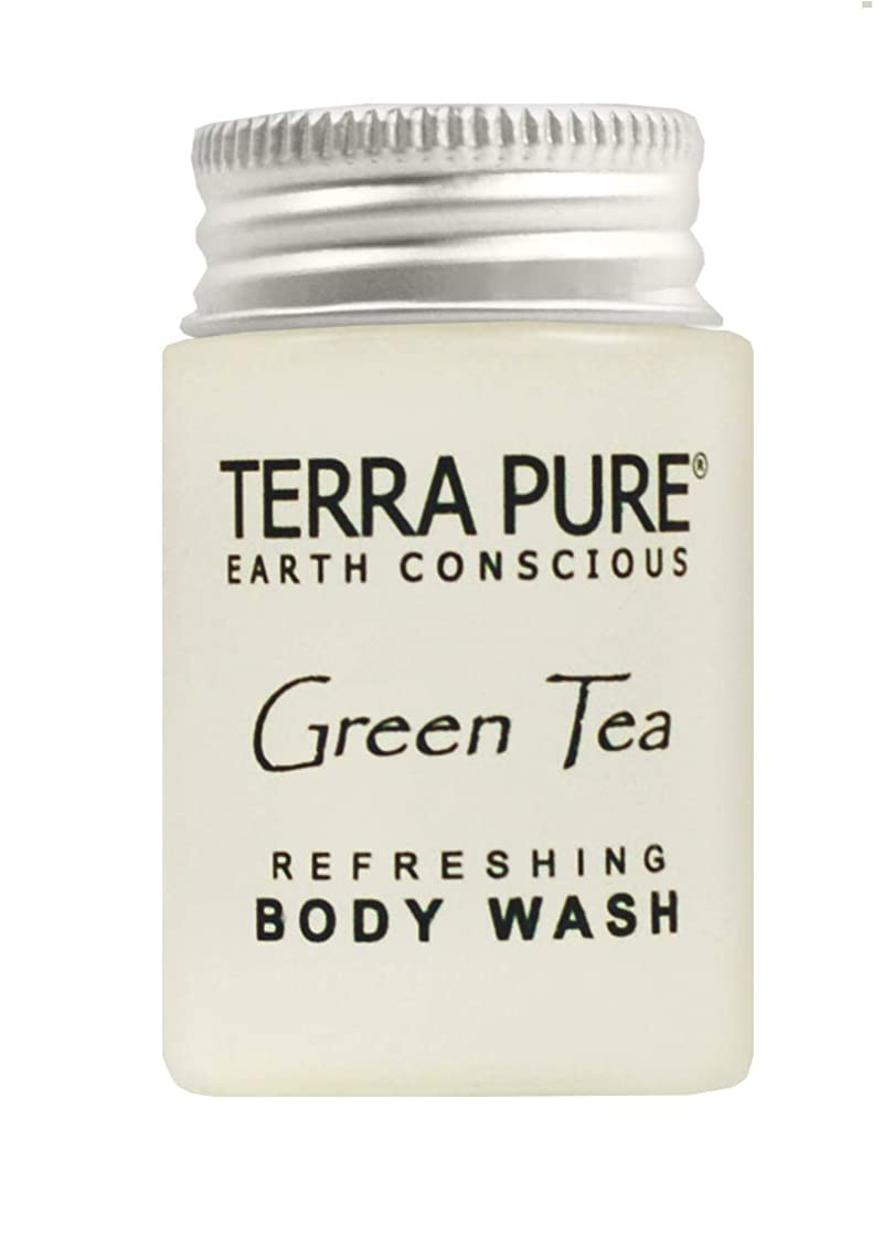 Terra Pure Body Wash, Travel Size Hotel Amenities, 1 oz. (Case of 100)