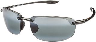 1af60fb31bf3 Maui Jim Rectangular Sunglasses (Gloss Black) (Ho Okipa 407-02). TOP BRAND