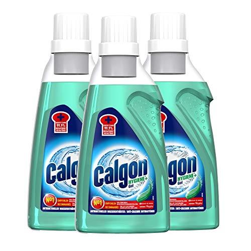 Calgon Hygiene+ Gel - Antibakterieller Wasserenthärter für die Waschmaschine 3er Pack (3 x 750ml)