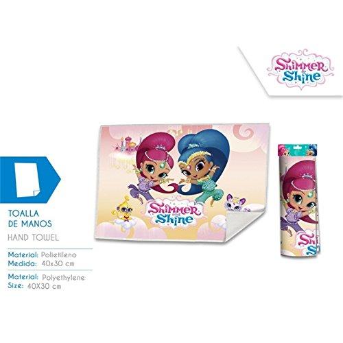 Disney – Shimmer and Shine Toalla de baño, sh17015, 30 x
