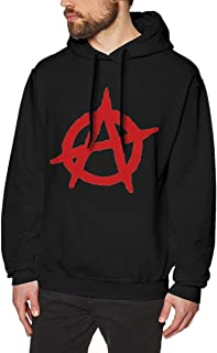 DGGE Anarchy Men's Hoodies Sweatshirts Clothing and Sports
