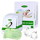 16 Packs Eye Masks for Dark Circles and Puffiness Disposable Soothing Headache Relief Dry Eyes, Stress Relief Relief Eye Fatigue Steam Eye Masks Mother's Day Gifts