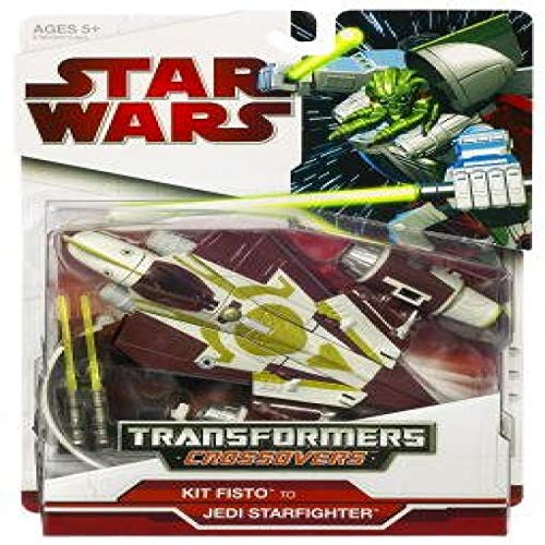 Star Wars Transformers Crossovers - KIT FISTO Jedi Starfighter