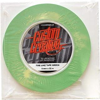 Flexibles Vinyl Klebeband für Airbrush, 9 mm, Grün