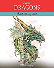Doodle Dragons: Adult Coloring Book (Great New Christmas Gift Idea 2019 - 2020, Stress Relieving Creative Fun Drawings For Grownups & Teens to Reduce Anxiety & Relax)