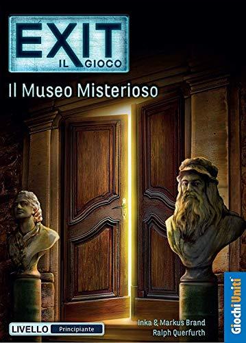 Giochi Uniti Exit: Il Museo Misterioso, Multicolore, GU646