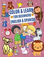 Color & Learn for Beginners English & Spanish