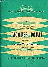 Jacques Douai. Grand Prix du Disque 1955 (Académie Charles Gros). TOME 2 : Nouvelles chansons, accompagnées à la guitare.
