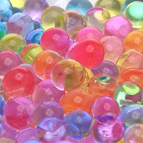 LINGYE Wasserperlen für Pflanzen 50.000 Aquaperlen Wachsende, Bälle Gel Perlen Wassergel Kugeln Dekoration für Pflanzen, Vase Füllstoff, Hauptdekoration