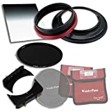 WonderPana FreeArc Essentials ND Kit 0.9HE & ND16 - Rotating Filter System Holder, Lens Cap, Fotodiox Pro 6.6'x8.5' Graduated Neutral Density (Grad ND) and 145mm ND16 (4-Stop) Filters for Tamron 15-30mm SP F/2.8 Di VC USD Wide-Angle Zoom Lens (Full Frame