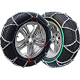 Big Ant Snow Chain Anti-Skid Tire Snow Chains,Emergency Traction Car Snow Tyre Chains for Light Truck/SUV Car Tire Chains,Set of 2